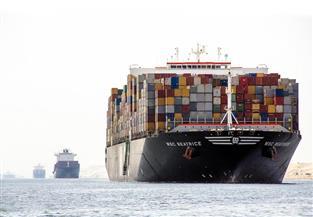 عبور 46 سفينة بقناة السويس بحمولة 2 مليون و600 ألف طن
