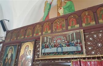 تسجيل 10 أيقونات من كنيسة الأنبا مقار بإمبابة في قيد الآثار | صور