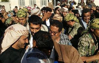 """نجل شقيق """"صالح"""" في أول ظهور له إلى جانب القوات الشرعية في اليمن يؤكد سيره على وصايا عمه"""