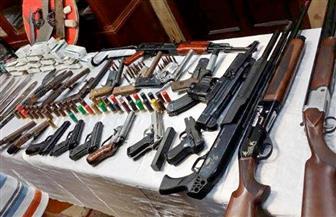 ضبط 6 عاطلين وبحوزتهم أسلحة نارية و5 كيلو بانجو و210 جرامات حشيش بالشرقية