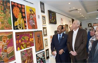 """افتتاح معرض """"كولكشن أسوان"""" ضمن فعاليات العيد القومي"""