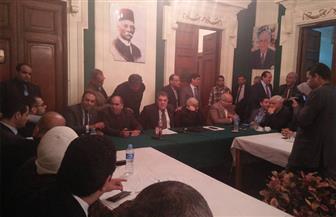 رئيس الوفد يستمع لقيادات الحزب للتوافق حول مرشح رئاسي