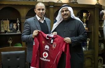 نائب رئيس البرلمان العربي: نسعى للاستفادة من خبرة وجماهيرية الأهلي في تطوير الرياضة بالبحرين