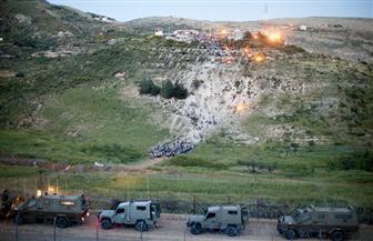 مزارعو الجولان السوري المحتل يدينون محاولات إسرائيل لتهويد المنطقة واقتلاعهم من أراضيهم