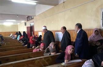 نائب رئيس جامعة الأزهر يتفقد سير الامتحانات بكليات الوجه البحري