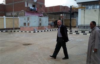 رئيس مدينة المحلة يتفقد أعمال مشروعات خدمية بالقرى| صور