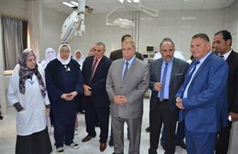 محافظ الإسماعيلية يفتتح وحدة مناظير الجهاز الهضمي بمستشفى الحميات| صور