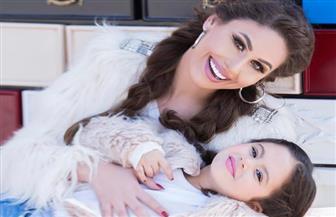 """مي سليم تظهر مع ابنتها في الحلقة الأولى من """"كان نفسي"""""""
