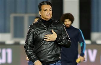 إيهاب جلال يشرح أخطاء مباراة الإنتاج فى جلسة مع اللاعبين