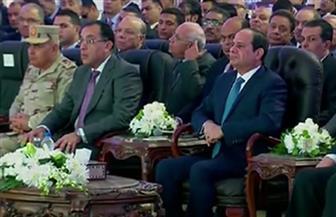 """الرئيس السيسي يشهد افتتاح """"مشروع مصر القومي  للنهضة العلمية"""" بمدينة زويل"""