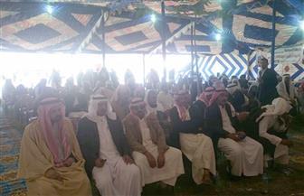 مشايخ قبائل سيناء: نقف خلف الرئيس السيسي دعما للوطن والتنمية | صور