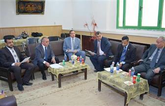 رئيس جامعة سوهاج: اعتماد مجلس إدارة الدبلومة المتخصصة بكلية الألسن