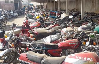 ضبط 2387 دراجة نارية مخالفة خلال أسبوع