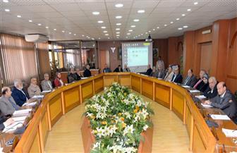 القناوي يلتقي مجلس هندسة المنصورة لمناقشة عمليات التطوير وتحديث المعامل