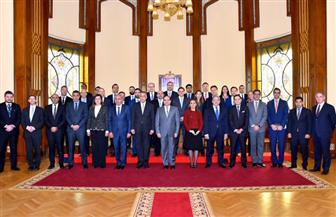 تفاصيل اجتماع الرئيس السيسي بممثلين عن 26 صندوقا إقليميا وعالميا للاستثمار / صور