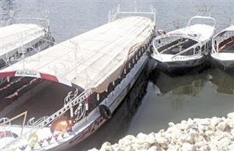 قطع الكهرباء عن مرسى مخالف بكورنيش النيل في المعادي