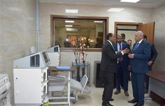 محافظ أسوان يتفقد المستشفى الجامعي   صور