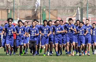 الأهلي بالزي الأزرق أمام طلائع الجيش في الدوري المصري