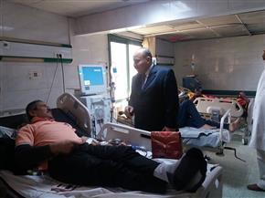 إحالة 134 من العاملين بمستشفى كفرالزيات العام إلى التحقيق | صور