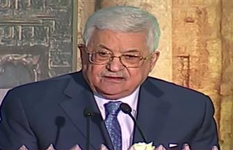 """الرئيس الفلسطيني: نثمن دور مصر في دعم ونصرة القدس.. وقرار ترامب """"خطيئة كبرى"""""""