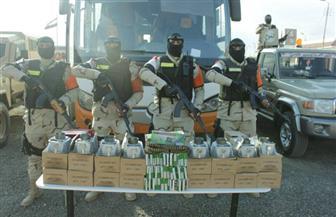 الجيش الثاني يقبض على 22 مشتبها في دعمهم للعناصر التكفيرية بشمال سيناء | صور