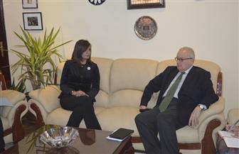 وزيرة الهجرة تلتقي السفير الإيطالي بالقاهرة وتدعوه لبحث معادلة رخصة القيادة المصرية والإيطالية | صور