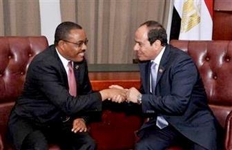 الرئيس السيسي يستقبل رئيس وزراء إثيوبيا غدا بقصر الاتحادية.. ويعقدان مؤتمرا صحفيا