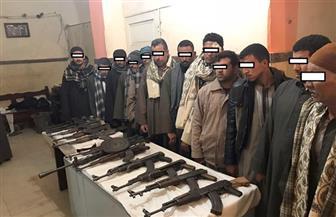 ضبط 13 قطعة سلاح في حملة أمنية بأسيوط