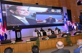 جامعة أسيوط تطلق فعاليات مؤتمر دعم الرئيس السيسي| فيديو