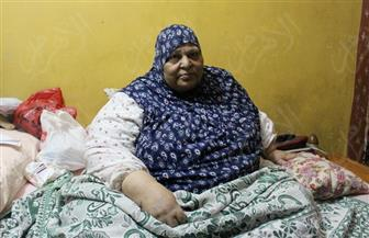 """وزارة الصحة تستجيب لما نشرته """"بوابة الأهرام"""" وتتبنى حالة الحاجة زكية ضحية السمنة المفرطة"""