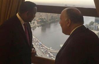 وزير خارجية إثيوبيا يشاهد معالم القاهرة من شرفة وزارة الخارجية| صور
