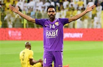 حسين الشحات يصنع ويقود العين لضرب الجزيرة والاقتراب من لقب الدوري