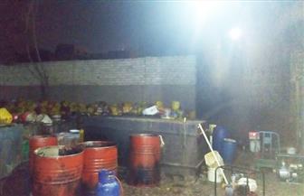 غلق وتشميع مصنع بالهرم يعيد تدوير الزيوت وييعها للمطاعم| صور