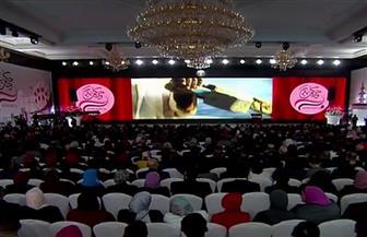مؤتمر حكاية وطن يبدأ بعرض فيلم تسجيلي عن مصر وشعبها وإنجازاتها
