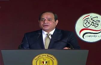 ننشر بعض الانجازات التى استعرضها الرئيس السيسي خلال كلمته بمؤتمر حكاية وطن