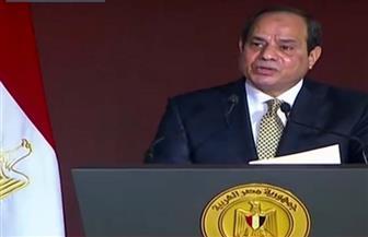 """الرئيس السيسي: ثقتي في شباب مصر بلا حدود.. والمشروعات العملاقة أوقفت """"قوارب الموت"""""""