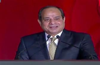 """الرئيس السيسي: نجحنا في حصار فيروس سي.. و2.5 مليون مواطن يستفيدون من """"تكافل وكرامة"""""""