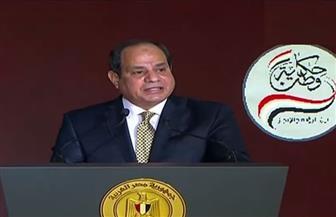 الرئيس السيسي: قرار مصر مستقل وكلمتها صارت مسموعة في المحافل الدولية