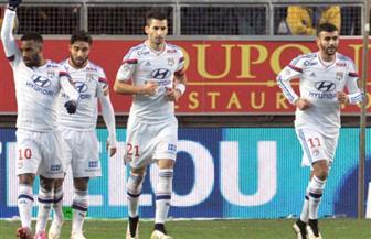 ليون يستعيد الانتصارات بثنائية في جانجون ويرتقي لوصافة الدوري الفرنسي