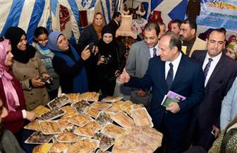 محافظ الإسكندرية يفتتح معرض الأسر المنتجة بمشاركة 100 أسرة | صور