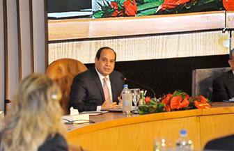 الرئيس السيسي يشاهد فيلمًا تسجيليًا حول ما تم إنجازه بالاقتصاد والعدالة الاجتماعية