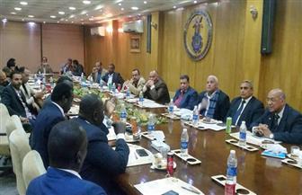 جمعية المستثمرين بأسوان تلتقي وفد وزراء جنوب السودان لبحث سبل التعاون