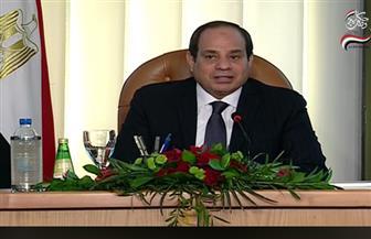 الرئيس السيسي: حجم ما ينفق على تنمية سيناء يصل إلى ربع تريليون جنيه
