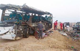 """مصرع شخص و إصابة 31 في حادث تصادم بـ """"أبو رديس"""""""