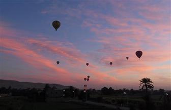 تحليق 17 رحلة بالون طائر في سماء الأقصر |صور