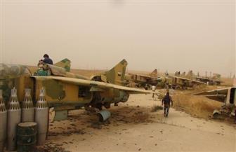الجيش السوري يدخل مطار أبو الظهور العسكري