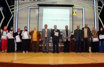 محافظ الإسكندرية يشهد احتفالية تدشين عمل لجان المساءلة المجتمعية ببرنامج تكافل وكرامة | صور