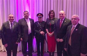 وزيرة الهجرة تشارك فى حفل تنصيب أول مصري يتولى نائب لورد لمقاطعة بريطانية | صور