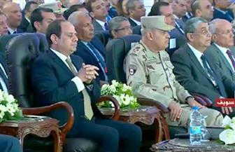 الرئيس السيسى يشهد افتتاح المرحلة الثانية لمستشفى بنى سويف وعدد من المشروعات التنموية