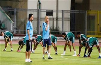 إسلام عيسى لاعب المصري يواصل التدريبات التأهيلية